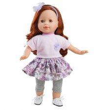 Bábika Ana vo fialovom oblečení 36cm