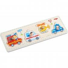Vkladacie puzzle Záchranné vozidlá