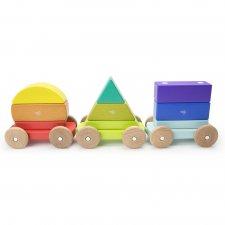 Magnetická hračka Vláčik-tvary