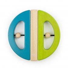 Magnetická hračka Chrobák zelená/tyrkys