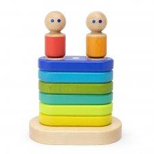 Magnetická hračka Stohovanie