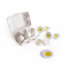 Vajíčka kartón 6ks