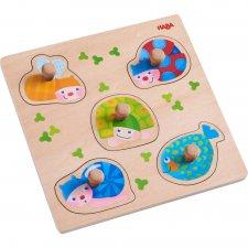 Vkladacie puzzle Farebné zvieratká