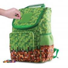 Školská taška Mine&Craft zelená 21 l