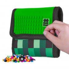 Peňaženka Kocka zelená