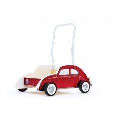 Auto na tlačenie VW červené