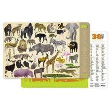 Prestieranie 36 divokých zvierat