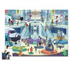 Puzzle Deň v múzeu/Vesmír 48ks