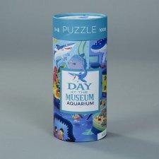 Puzzle Deň v múzeu/Akvárium 72ks