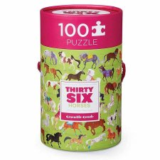 Puzzle 36 koní 100ks