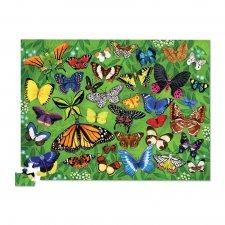 Puzzle 36 motýľov 100ks