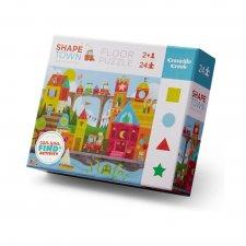 Puzzle Mesto - učíme sa tvary 24ks