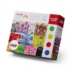 Puzzle Mesto - učíme sa farby 24ks