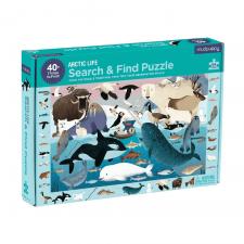 Hľadaj a nájdi puzzle Život na Arktíde 64ks