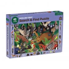 Hľadaj a nájdi puzzle Život v lese 64ks
