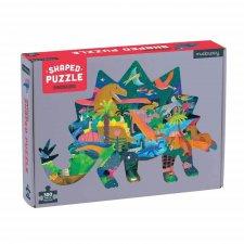 Puzzle tvarované Dinosaury 300ks