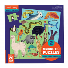 Puzzle magnetické  Zvieratá