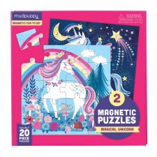 Puzzle magnetické Jednorožec