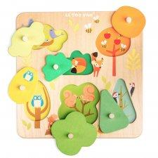 Vkladacie puzzle Zvieratká z lesa