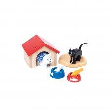 Doplnky do domčeka Pes a mačka