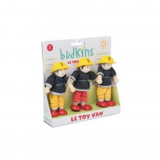 Požiarnici postavičky set 3ks
