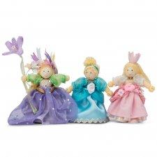 Princezné postavičky set 3ks