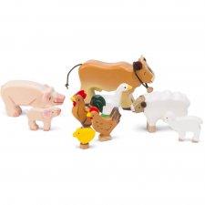 Zvieratká z farmy set 9ks