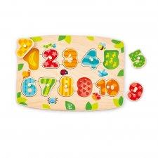 Vkladacie puzzle Čísla 1-10