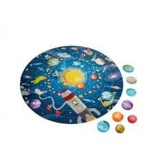 Puzzle Slnečná sústava