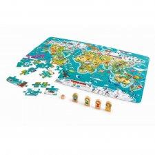 2v1 puzzle a hra Cesta svetom