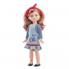 Bábika Paola s čelenkou 21cm