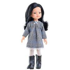 Bábika Liu v šatách  32cm