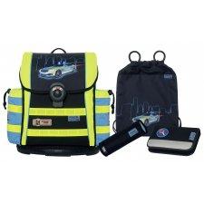 Školská taška Polícia ErgoL DIN s príslušenstvom