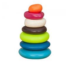 Stohovacie farebné kamene na nastrkovanie