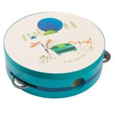 Detská tamburína modrá