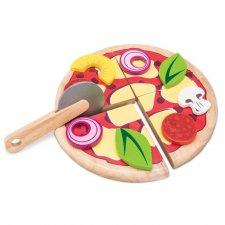 Drevená pizza s plechom