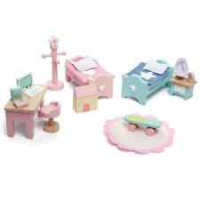 Nábytok do domčeka Daisylane Detská izba