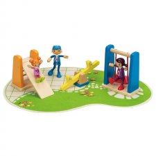 Detské ihrisko k domčeku pre bábiky