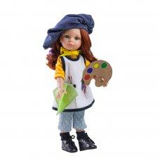 Bábika Cristi maliarka 32cm