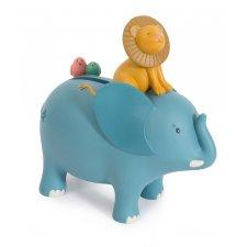 Pokladnička Sloník modrý
