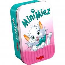 Mini mačiatka hra v plechovke