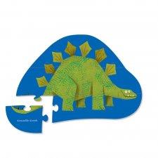 Puzzle mini Stegosaurus 12ks
