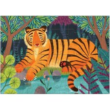 Puzzle mini Bengálsky tiger 48ks