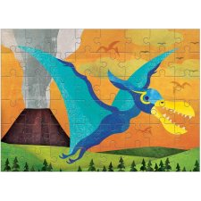 Puzzle mini Pterosaur 48ks
