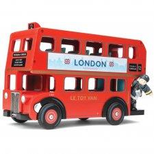 Londýnsky autobus so šoférom