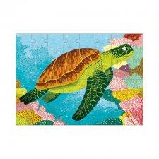Puzzle mini Morská korytnačka 48ks