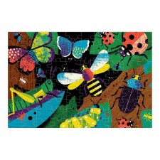 Puzzle svietiace v tme Hmyz