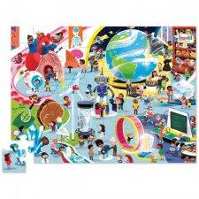 Puzzle Deň v múzeu - Veda 48ks