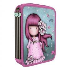 Gorjuss peračník dvojzipsový plný Cherry Blossom