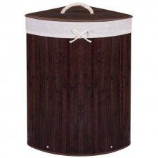 Bambusový kôš na pranie - 73L - hnedý